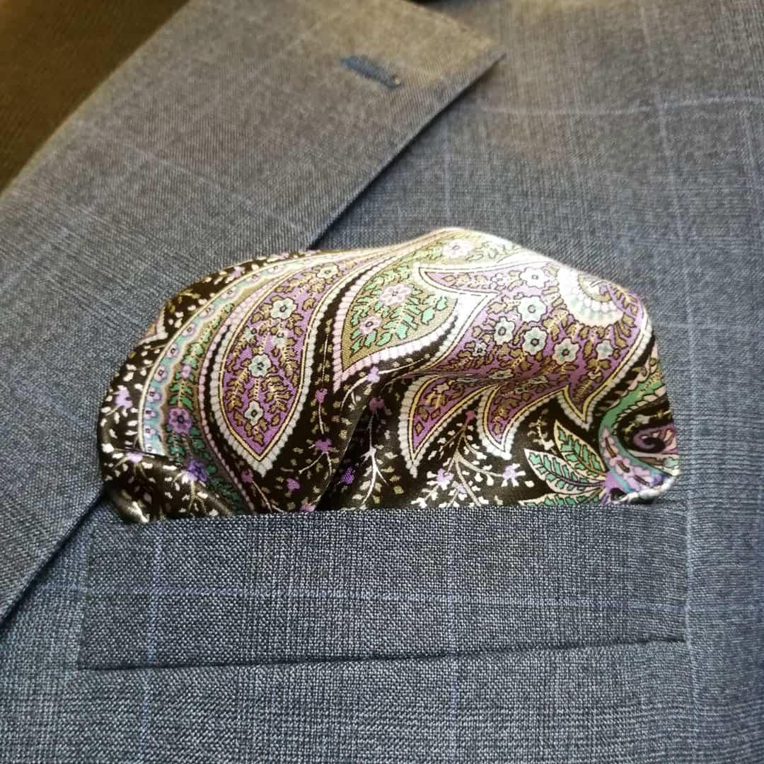 Kvalitní oblek - návaznost vzorů