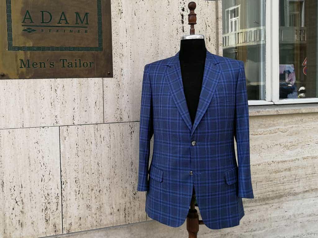 Elegantní modré sako
