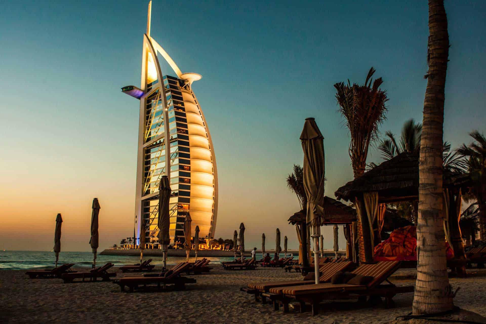 Cestování do Dubaje