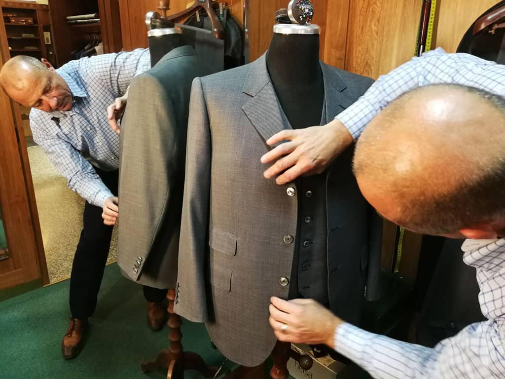 Bespoke oblek / zakázkové krejčovství