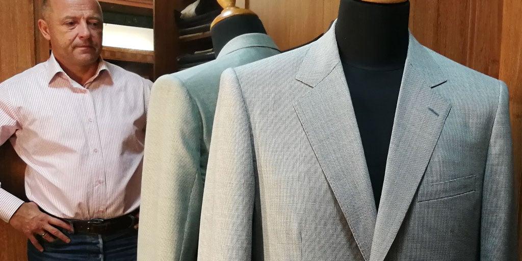 Velmi lehký letní blazer